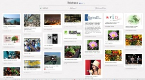 Pinterest board - Brisbane