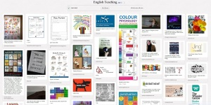 English teaching - Pinterest board