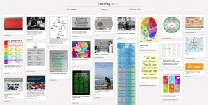 Pinterest board - Learning