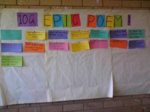 10G epic poetry