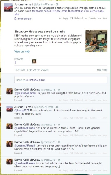 twitter convo JF 5April2014